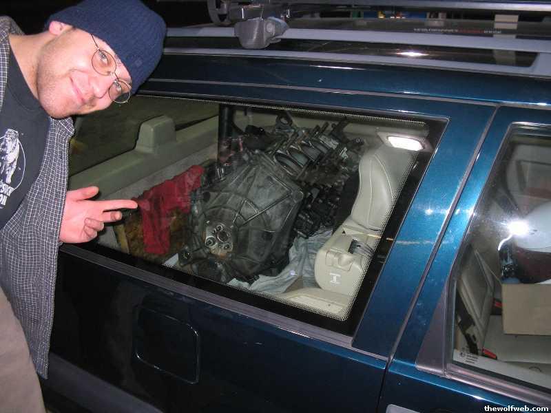 I put a Porsche 944 turbo engine in my Volvo 850 turbo ...