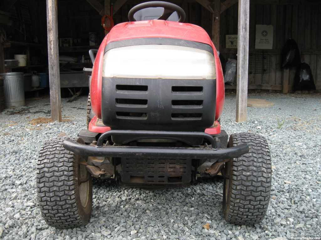 Tww Fs Troy Bilt Gtx 2446 Riding Mower