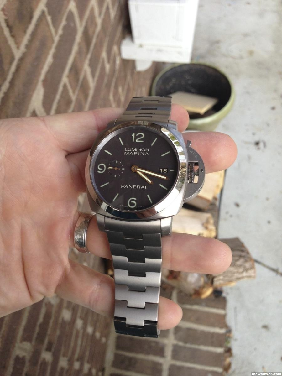 Fs Panerai Pam 352 351 Full Package 3 Weeks Old O